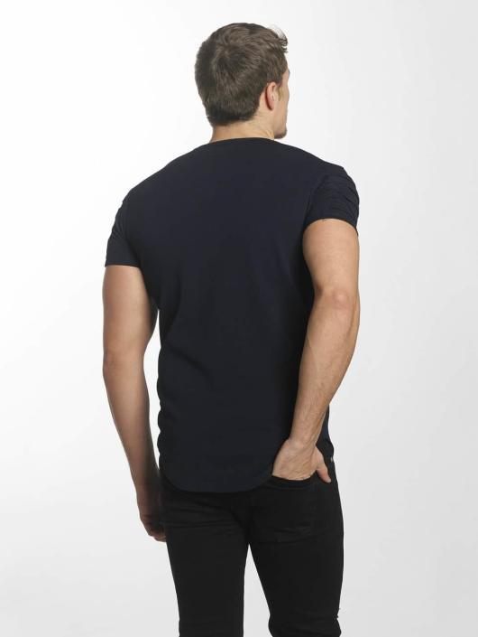 Uniplay T-Shirt Embossed bleu