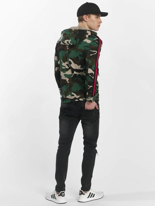Uniplay Zip Hoodie Vest Military camouflage