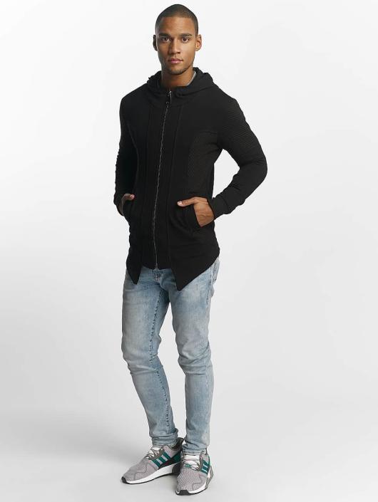 Uniplay Zip Hoodie Zipper schwarz