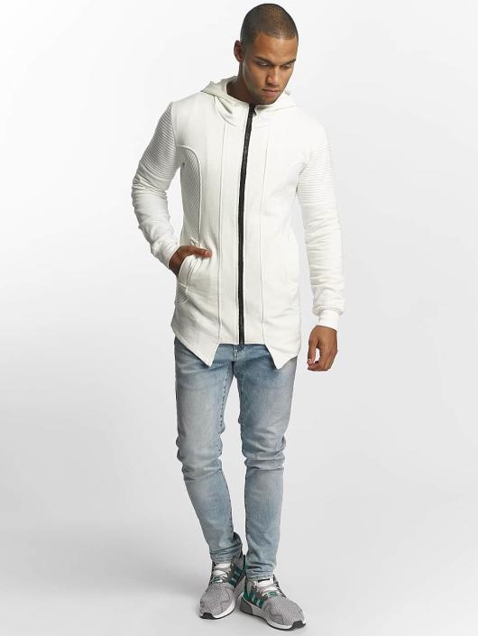 Uniplay Zip Hoodie Zipper white