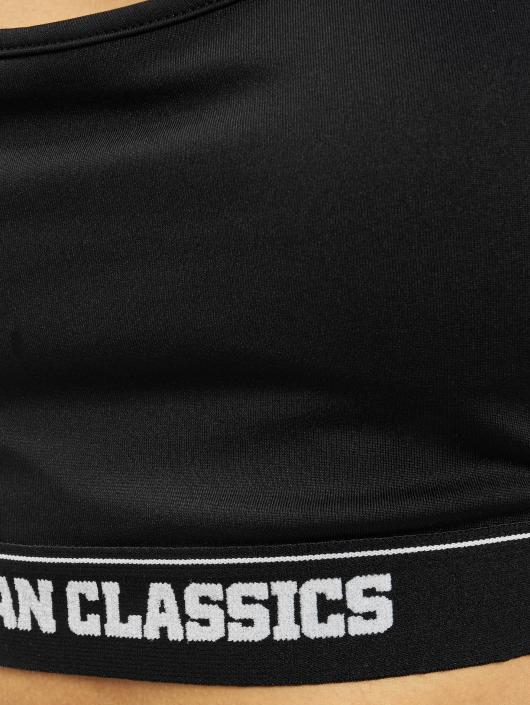 Urban Classics Športová podprsenka Sports èierna