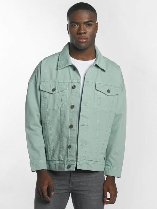 Urban Classics Демисезонная куртка Garment Dye Oversize бирюзовый
