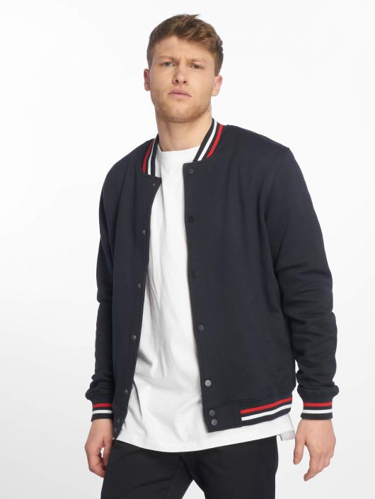Urban Classics Университетская куртка 3-Tone College синий