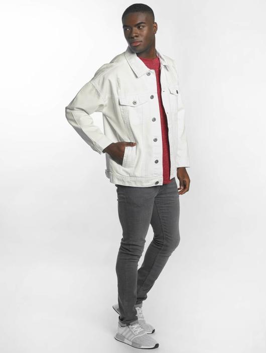 Urban Classics джинсовая куртка Ripped Denim белый