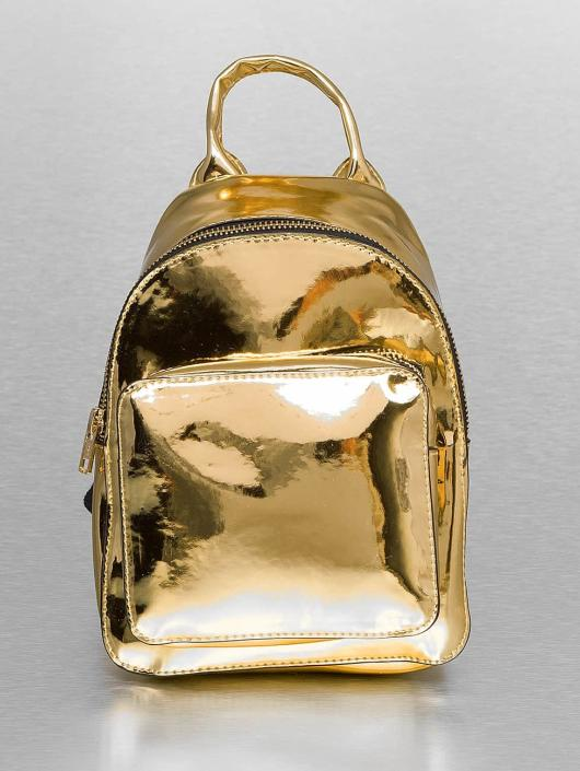 Urban Classics Batohy Mini Metallic zlatá
