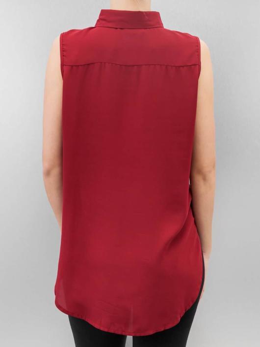 Urban Classics Bluser/Tunikaer High Low Sleeveless red