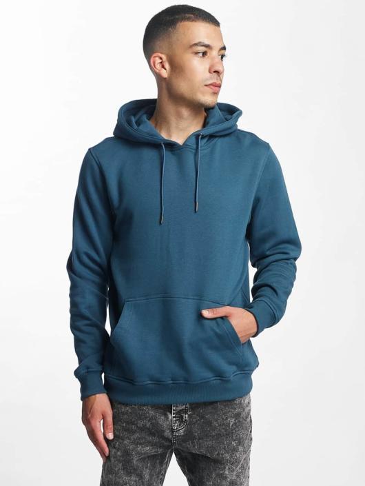 Urban Classics Bluzy z kapturem Basic turkusowy