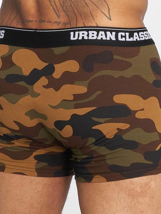 Urban Classics Boksershorts 2-Pack Camo kamuflasje