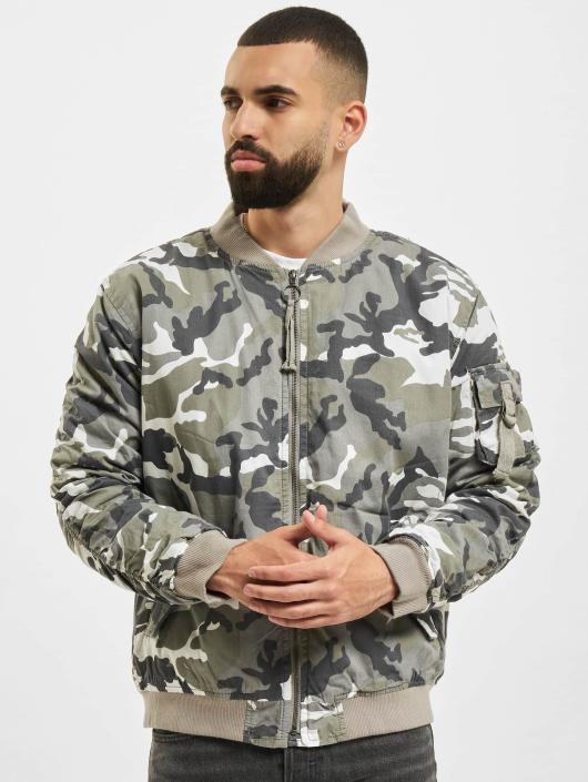 Camouflage Homme Bomber 400423 Urban Classics Vintage Camo nk80wOP