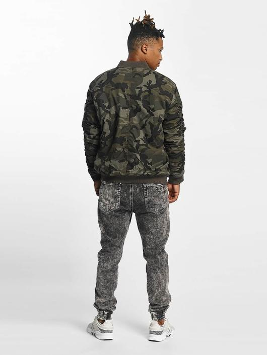 Urban Classics Bomber jacket Vintage Camo Bomber camouflage