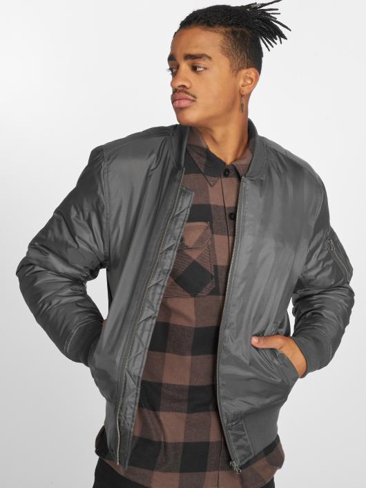 Urban Classics Bomber jacket Basic Bomber gray
