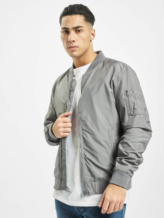 Urban Classics Bomber jacket Light grey