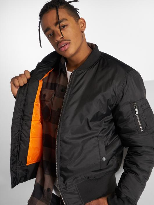 the latest 57fd5 ae265 Urban Classics Basic Bomber Jacket Black