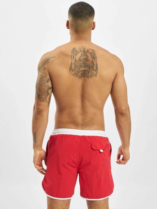 Urban Classics Boxer da mare Retro rosso