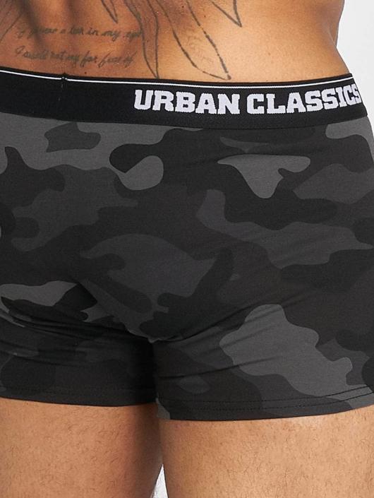 Urban Classics Boxerky 2-Pack Camo maskáèová