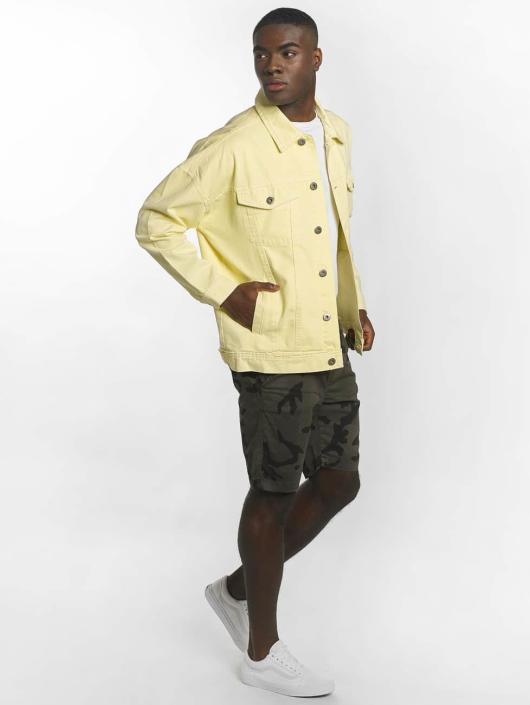 Urban Classics Bundy na přechodné roční období Garment Dye Oversize žlutý