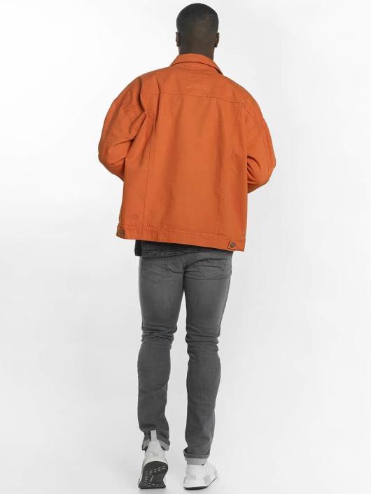 Urban Classics Bundy na přechodné roční období Garment Dye Oversize oranžový