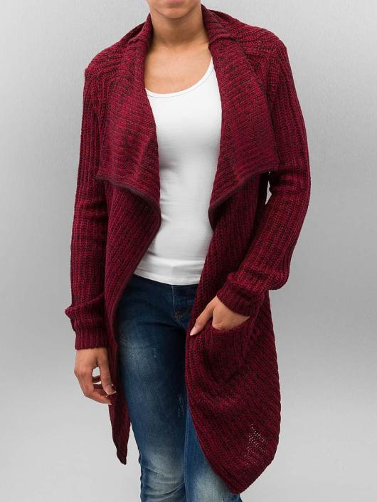 Urban Classics Rouge Cardigan Knitted Femme 201399 UqzpjSMGLV