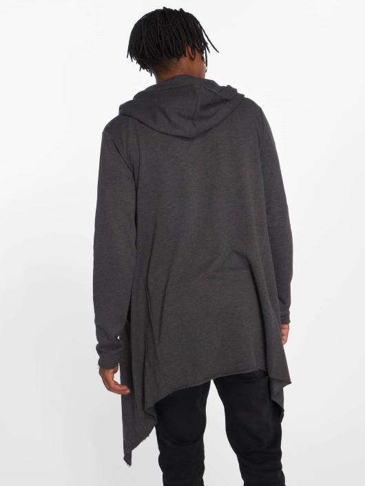 Urban Classics Cardigans Long Hooded grå