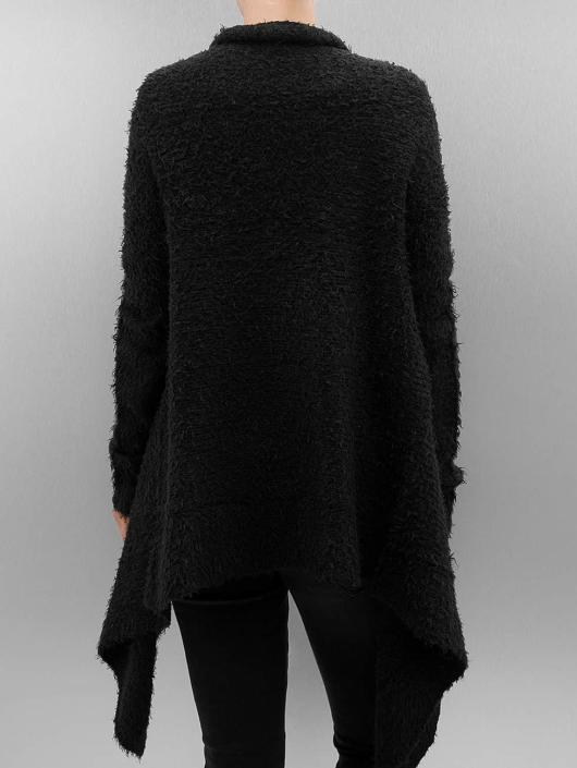 Urban Classics Cardigans Ladies Knit Feather svart