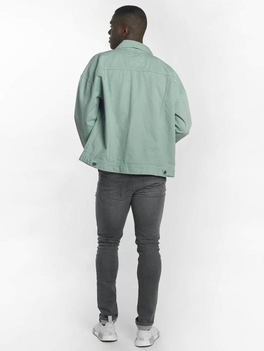 Urban Classics Chaqueta de entretiempo Garment Dye Oversize turquesa