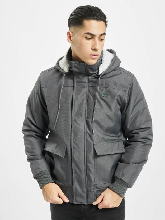 Urban Classics Chaqueta de invierno Heavy Hooded gris