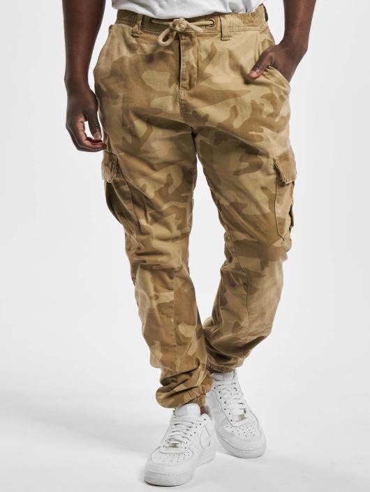 Urban Classics Chino bukser Camo beige