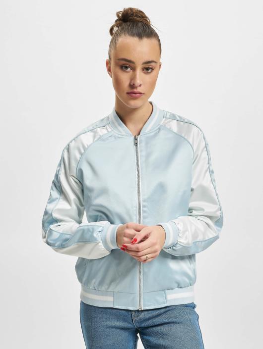 Urban Classics College jakke 3 Tone Souvenir blå