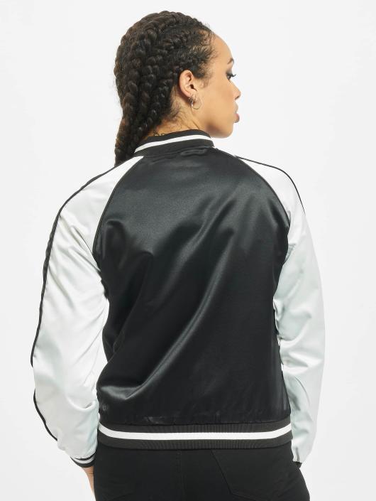 Urban Classics College jakke 3 Tone Souvenir svart