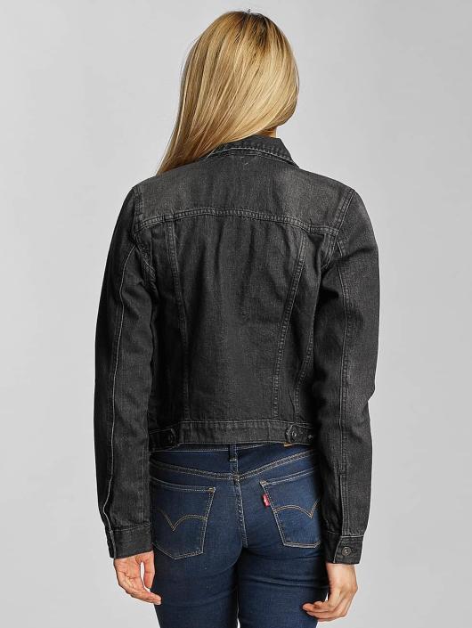 Urban Classics Denim Jacket Ladies Denim black