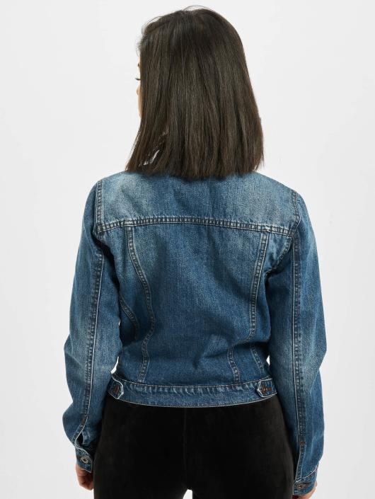 Urban Classics Denim Jacket Ladies Denim blue
