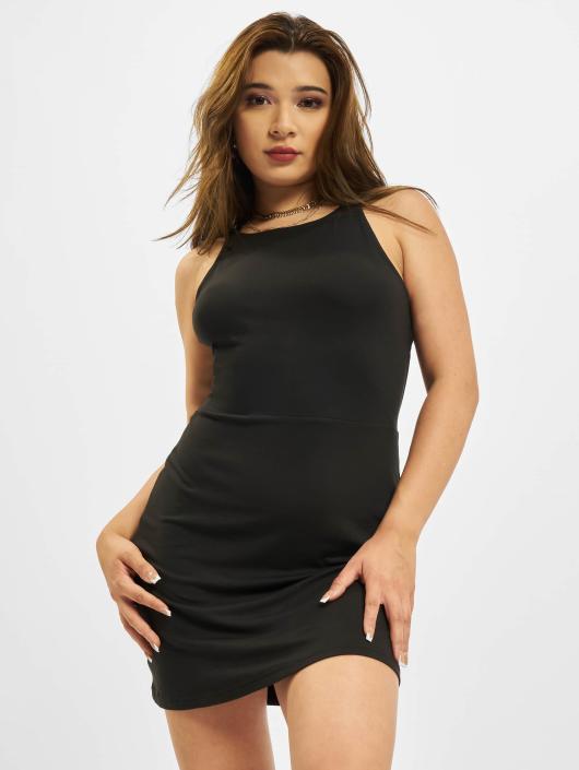 Urban Classics Dress Back Cut Out black