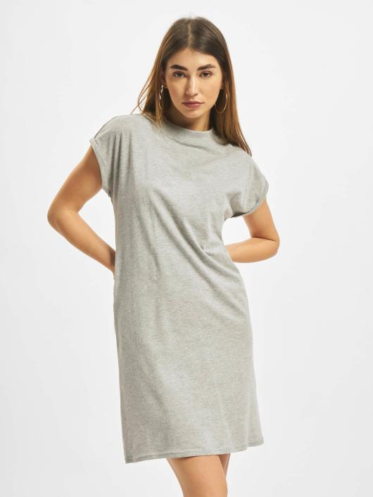 Urban Classics Dress Turtle Extended Shoulder gray