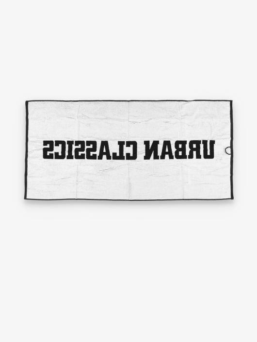 Urban Classics Håndkle 2-Tone Logo svart