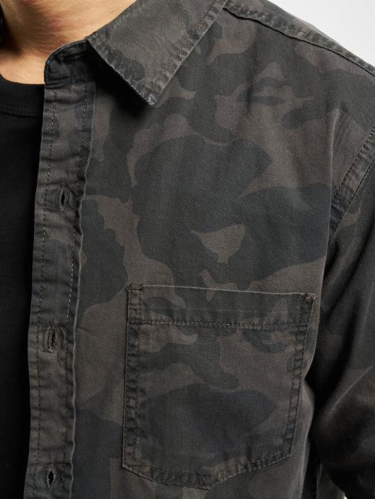 Urban Classics Hemd Camo camouflage