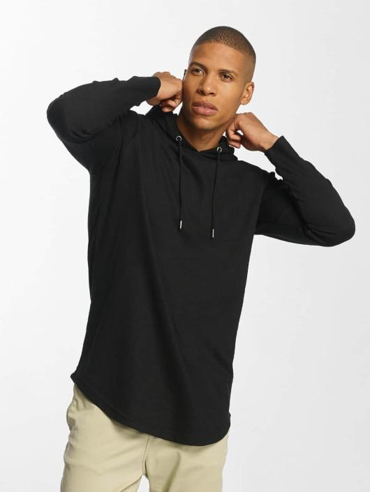 Urban Classics Hoodie Long Shaped Terry black