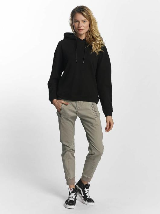 Urban Classics Hoodie Laced Up black