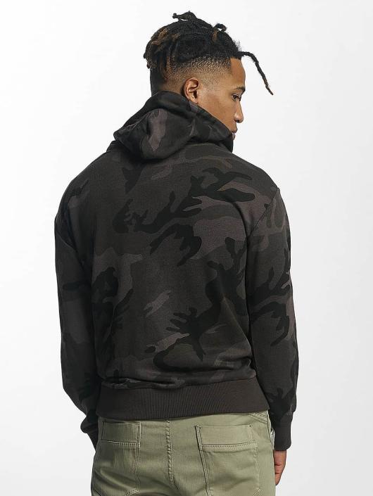 Urban Classics Hoodie High Neck Camo camouflage