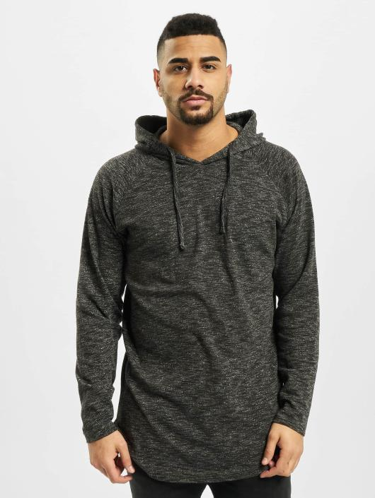 Urban Classics Hoodie Melange Shaped grey