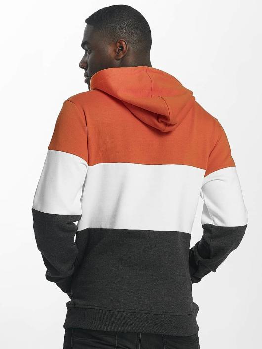 Urban Classics Hoodie 3 Tone orange