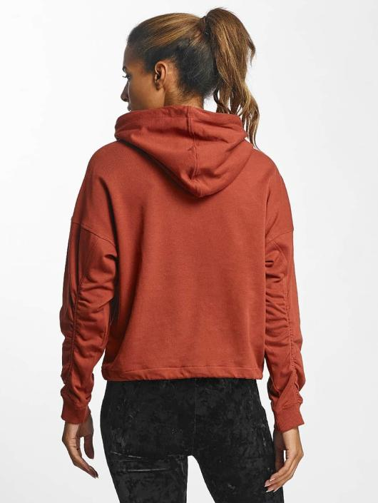 Urban Classics Hoodie Oversized Gathering red