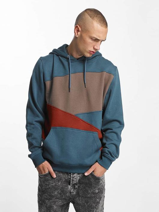 Urban Classics Hoodie Zig Zag turquoise