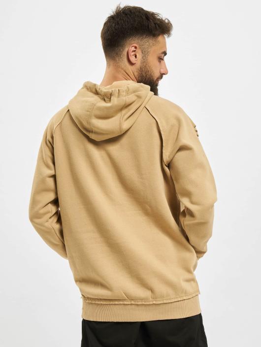 Urban Classics Hoody Ripped Raglan beige
