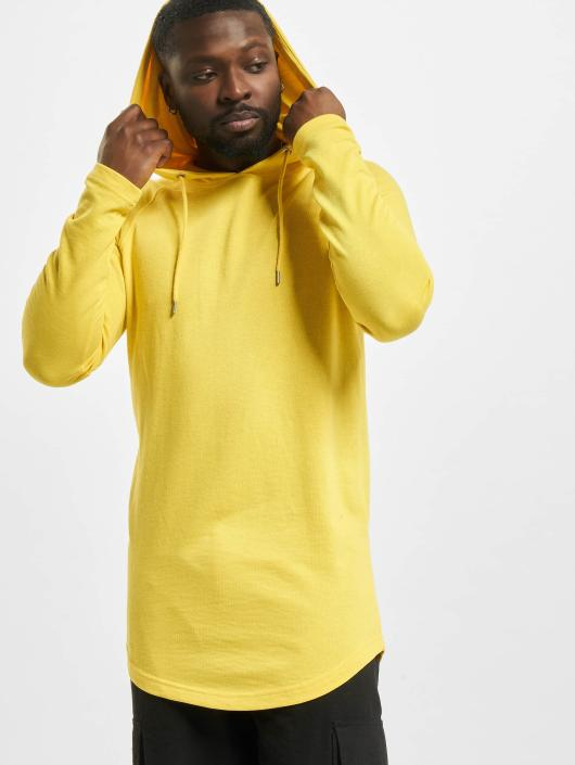 Urban Classics Hoody Long Shaped Terry geel