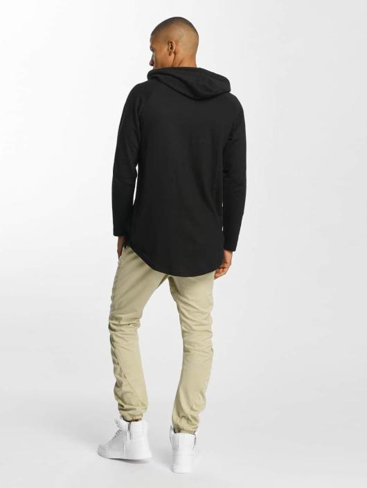 Urban Classics Hoody Long Shaped Terry schwarz