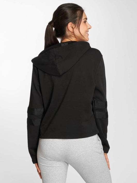 Urban Classics Hoody Peached Terry Troyer schwarz