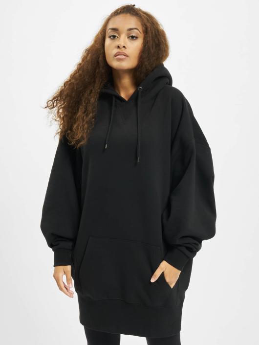 Urban Classics Hoody Long Oversize schwarz