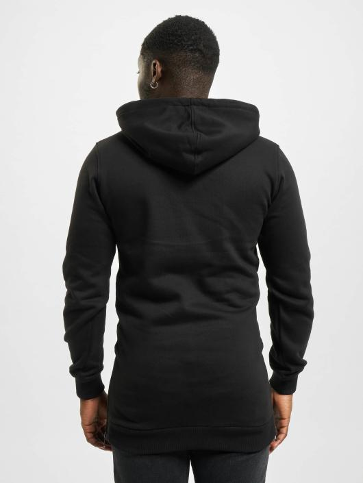 Urban Classics Hoody Long Side zwart