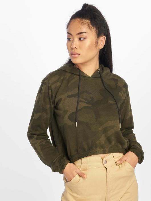 Urban Classics Hupparit Camo Cropped camouflage