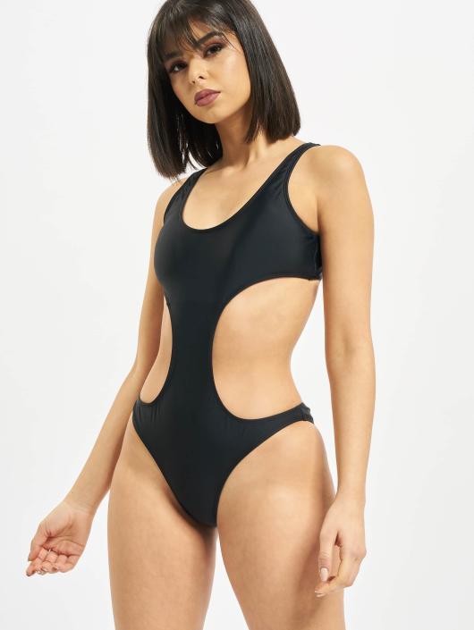 Urban Classics Jednodílné plavky Ladies čern